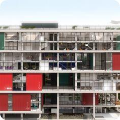 arquiteto: Andrade Morettin  Edifício BOX 298  Vila Madalena, São Paulo