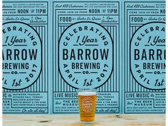 Barrow Turns 1 by Keith Davis Young #Design Popular #Dribbble #shots