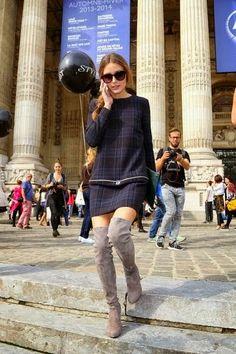 THE OLIVIA PALERMO LOOKBOOK: Paris Fashion Week : Olivia Palermo At Carven