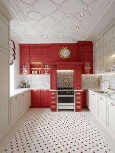 Garage Door Design, Door Design Interior, Home Room Design, Home Interior, Interior Design Inspiration, Kitchen Interior, Kitchen Design, Interior Decorating, Kitchen Buffet