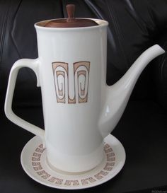 Taylor Smith Taylor Olympia pattern coffee pot