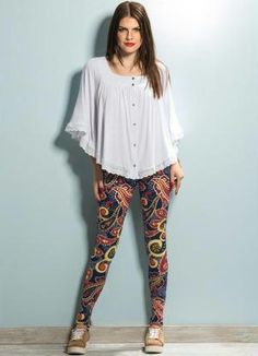 Blusa ampla + Legging - Quintess