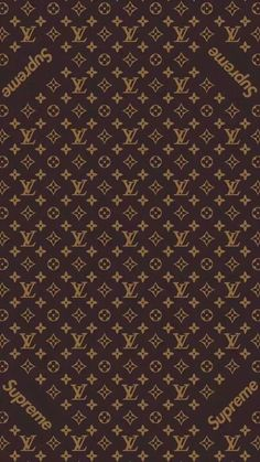 Louis vuitton x supreme pattern wallpaper wallpapers pinterest supreme lv voltagebd Choice Image