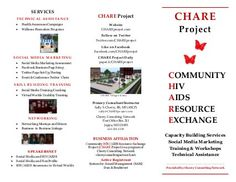 CHARE Project Brochure (Downloadable)