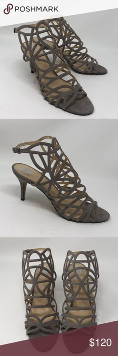 7e5ebf21d Shop Women s Vince Camuto Gray size 10 Sandals at a discounted price at  Poshmark.
