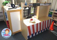 Kindergarten, Preschool, Storage, Interior, Ambulance, Toddlers, Blue Prints, Role Play, Police
