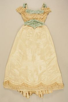 antique 1880s gown