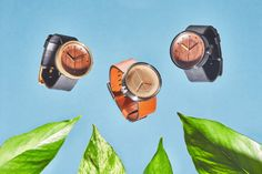 Grovemade Debuts Wood and Leather Watch Collection - Design Milk