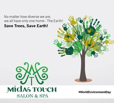 It's time for the world to unite to protect the #environment.#ClimateChange is real and needs all countries to be doing their bit to reduce carbon emissions #WorldEnvironmentDay #trees#nature #Environment #Earth #life #world2017. https://www.facebook.com/Midas-Touch-Salon-and-Spa