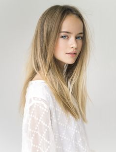 Beautiful Little Girls, The Most Beautiful Girl, Beautiful Children, Pretty Girls, Girl Face, Woman Face, Kristina Pimenova 2016, Kristina Pímenova, Beauté Blonde