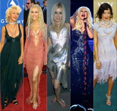 Christina Aguilera's GRAMMY fashion over the years. What's your favorite look?