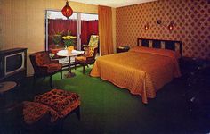 I could live in this room  cable motel san francisco CA room by it's better than bad, via Flickr