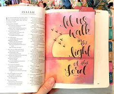 Isaiah Tip-ins are an easy and quick way to add extra space and pieces of art into your bible journaling. This free printable is a great place to start. Just cut them out and adhere them with tape or glue! Bible Verse Painting, Scripture Art, Bible Art, Bible Journaling For Beginners, Bible Study Journal, Scripture Journal, Art Journaling, Bible Doodling, Bible Drawing