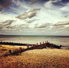 The Beach in England...