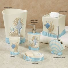 Seaside Accessories For Cr bathroom