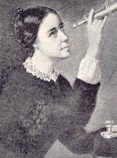 Maria Mitchell - (August 1, 1818-June 28, 1889), the first American woman astronomer, was the first professor of Astronomy at Vassar College and the first director of Vassar's observatory. Honored internationally, she was one of the most celebrated American scientists of the 19th century.