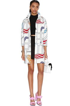 Modding Off Coat | Shop Bright and Graphic at Nasty Gal