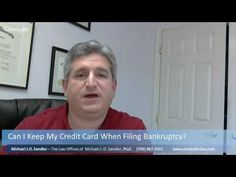 Can I Keep My Credit Card When Filing Bankruptcy