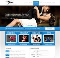 Dans Stüdyosu İnternet Sitesi