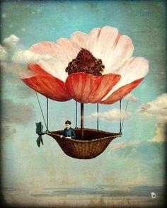 'Spring Journeys' by Christian  Schloe on artflakes.com as poster or art print $22.17