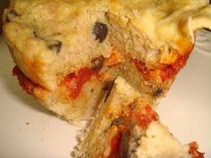 Mug cake au thon, tomates et olives au micro-ondes, IG bas