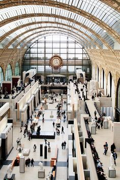 Musee d' Orsay-One of my favorite places on earth.  I could go every day for a year and not take it all in.  lingeredupon.blog