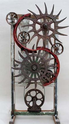Abby Rieser: Assemblage and Found Object Sculpture