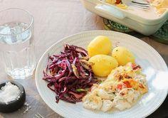 Fiskgratäng med dill och citron 9 sp / portion