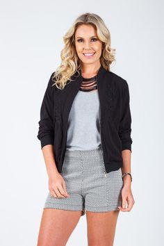 Jaqueta bordada preta Boutique, Style, Fashion, Embroidered Jacket, Black, Moda, Fashion Styles, Fashion Illustrations, Stylus
