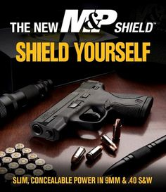 The new m shield by Smith and Wesson