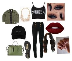 """""""Untitled #763"""" by glamor234 on Polyvore featuring Boohoo, Balmain, IPANEMA, Jil Sander, Vans and Lime Crime"""