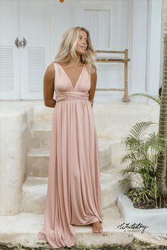 Whitestory & Friends own wrap dress in light pink w/ separate top. Perfect as a bridesmaid dress. Shipping worldwide Tailor Scissors, Bridesmaid Dresses, Wedding Dresses, Suits You, Body Shapes, Matcha, Different Styles, Style Guides, Pink Dress