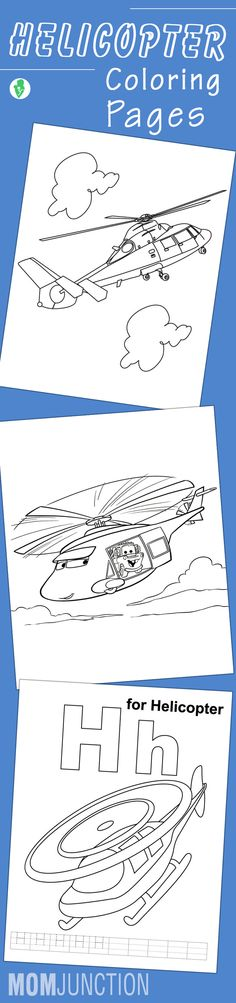 Top 10 Helicopter Coloring Pages For Your Little Ones