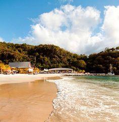 Beautiful sands on St Vincent - St Vincent & the Grenadines