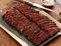 Marinated Grilled Hanger Steak from Anne Burrell