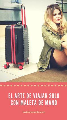 El arte de viajar sólo con maleta de mano   La Vida Nómade
