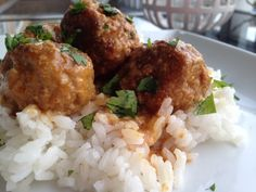 Thai Turkey Meatball