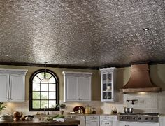 Kitchens.com - Mini Makeovers - Line Your Ceiling with Design Tiles