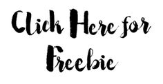 free printables, click here for freebie
