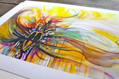 Love Series  4  11'' x 14'' by ConnieMinowa on Etsy