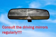 Know what's happening all around you during learner driving lessons nottingham. Check your mirrors. http://www.mydrivinginstructortraining.com