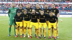 27-11-2016 Atlético de Madrid - Osasuna 0-3.