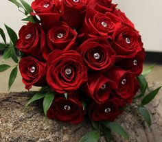 Red roses bridal bouquet Wedding Receptions, Red Roses, Special Events, Bouquet, Bridal, Flowers, Plants, Design, Bouquet Of Flowers