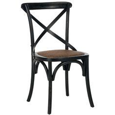 Safavieh´s Version von Michael Thonet´s klassischem A150 Bistrostuhl ist aus Eiche gefertigt. Mit der Sitzfläche aus Rattan und der charakteristischen Lehne in Bogenform ergänzt der Bistrostuhl jede Küche oder jedes Esszimmer. Wird im Set von zwei Stühlen geliefert.