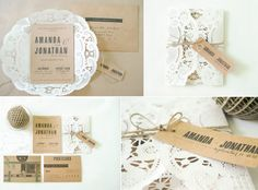 Rustic Invitation Kits Showing Pic Gallery For Diy Rustic Wedding Invitations