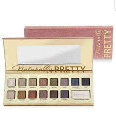 IT Cosmetics Naturally Pretty Palette Used by me. Beautiful creamy blendable matte shadows with a transforming luminous powder (lower right in palette). No box. No trades or unreasonable offers please IT Cosmetics Makeup Eyeshadow