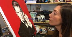 Paralyzed Artist Learns To Use Her Mouth To Paint Masterpieces