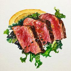 images of tankas Food N, Food And Drink, Cute Food, Yummy Food, Food Sketch, Food Cartoon, Watercolor Food, Food Painting, Food Drawing