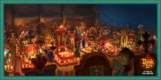 There's nothing quite like the warm feeling you get when you're surrounded by loved ones. #BookOfLife