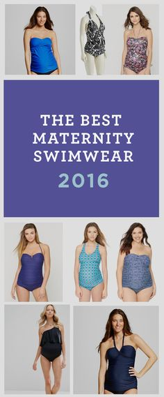 Find the perfect bathing suit to sport during your pregnancy whether it's a two piece, tankini or plus size. You'd be surprised at how much cute maternity swimwear is out there!